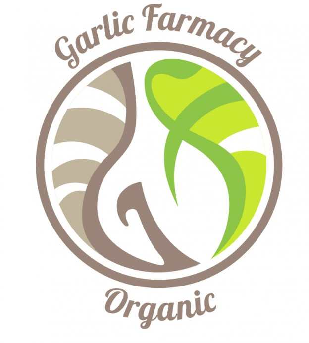 The 2014 logo of Garlic Farmacy